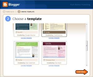 blogger temp