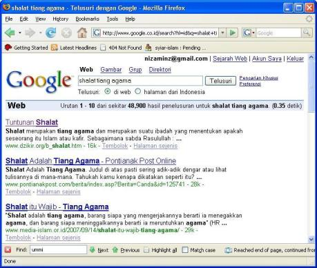 googlesholat