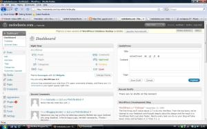 wordpress2.7